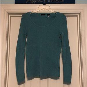 MODA International ribbed crewneck sweater